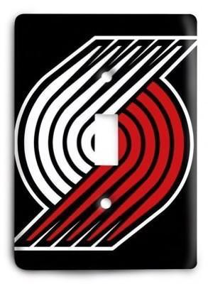 Portland Trail Blazers NBA 04v Light Switch Cover - Colorful Switches