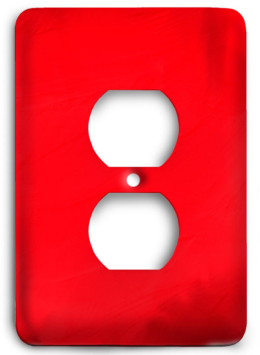 Red Textures Design v08  Outlet Cover - Colorful Switches