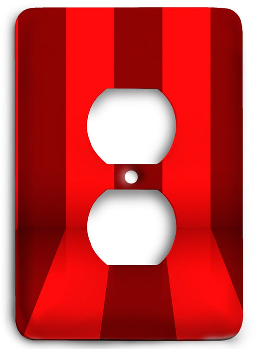 Red Textures Design v23  Outlet Cover - Colorful Switches