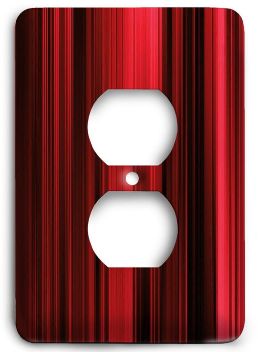Red Textures Design v27  Outlet Cover - Colorful Switches