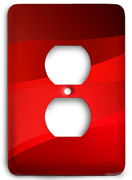 Red Textures Design v29  Outlet Cover - Colorful Switches