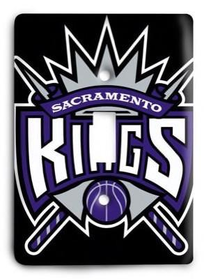 Sacramento Kings NBA 05 Light Switch Cover - Colorful Switches