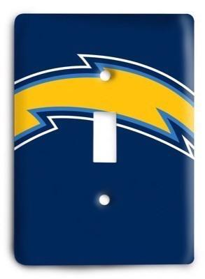 San Diego Chargers NFL 10 Light Switch Cover - Colorful Switches