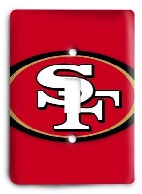 San Francisco 49ers NFL 01 Light Switch Cover - Colorful Switches