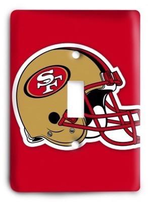 San Francisco 49ers NFL 02 Light Switch Cover - Colorful Switches