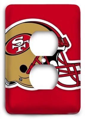 San Francisco 49ers NFL 02 Outlet Cover - Colorful Switches