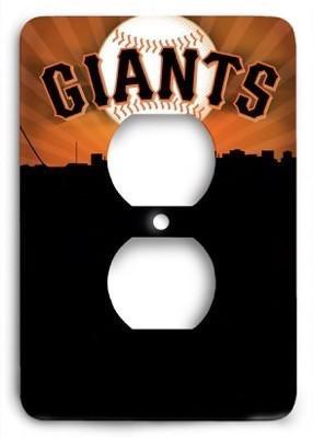 San Francisco Giants 20 Outlet Cover - Colorful Switches