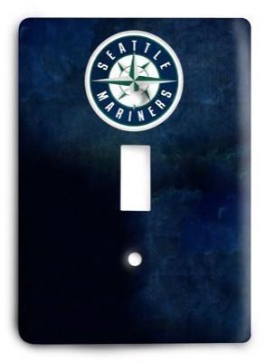 Seattle Mariners 05 Light Switch Cover - Colorful Switches