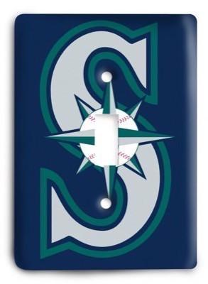 Seattle Mariners 11 Light Switch Cover - Colorful Switches