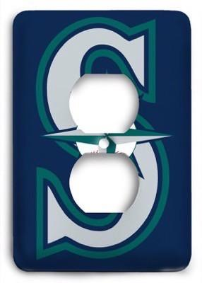 Seattle Mariners 11 Outlet Cover - Colorful Switches