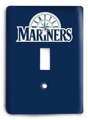 Seattle Mariners 12 Light Switch Cover - Colorful Switches