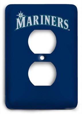 Seattle Mariners 13 Outlet Cover - Colorful Switches