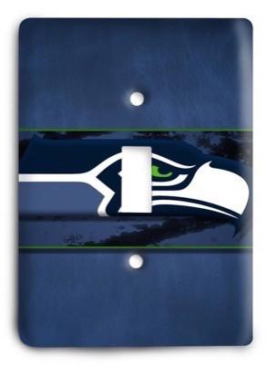 Seattle Seahawks NFL 14 Light Switch Cover - Colorful Switches