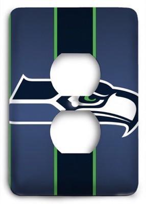 Seattle Seahawks NFL 15 Outlet Cover - Colorful Switches