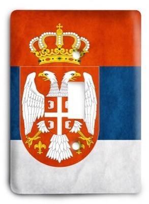 Serbia Light Switch Cover - Colorful Switches