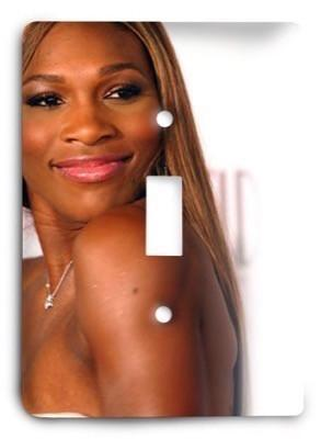 Serena Williams 3 Light Switch Cover - Colorful Switches