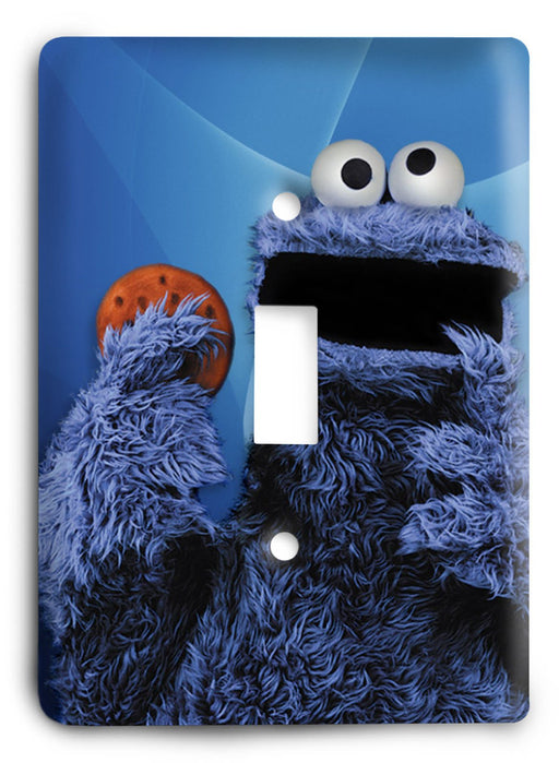 Sesame Street - Collector Series V1 Light Switch Cover - Colorful Switches