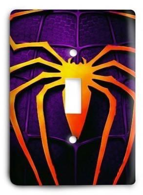 Spiderman Marvel Comics G3 v2 6 Light Switch Cover - Colorful Switches