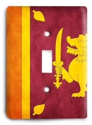 Sri Lanka Light Switch Cover - Colorful Switches