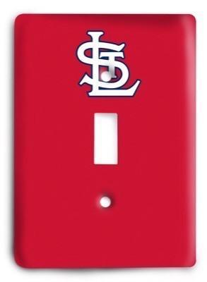 St. Louis Cardinals 03 Light Switch Cover - Colorful Switches