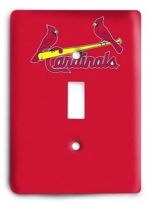 St. Louis Cardinals 04 Light Switch Cover - Colorful Switches