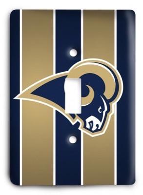 St. Louis Rams NFL 02 Light Switch Cover - Colorful Switches