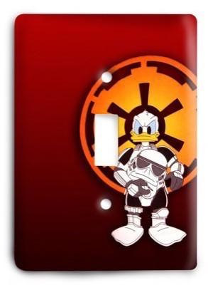Star Wars Daffy Duck Stormtrooper Light Switch Cover - Colorful Switches