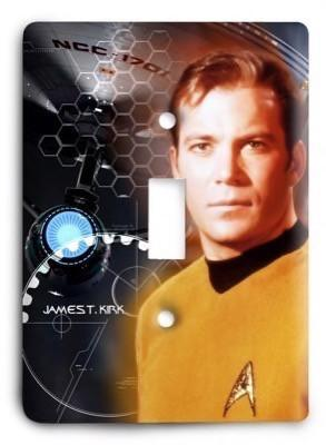 Star Trek v20 Light Switch Cover - Colorful Switches