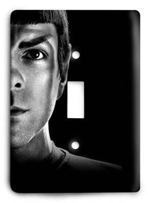 Star Trek v31 Light Switch Cover - Colorful Switches