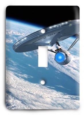 Star Trek v46 Light Switch Cover - Colorful Switches