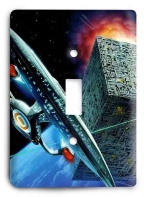 Star Trek v5 Light Switch Cover - Colorful Switches