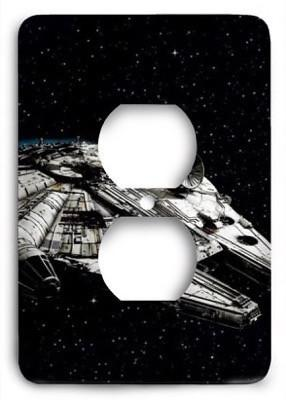 Star Wars_v20 Outlet Cover - Colorful Switches