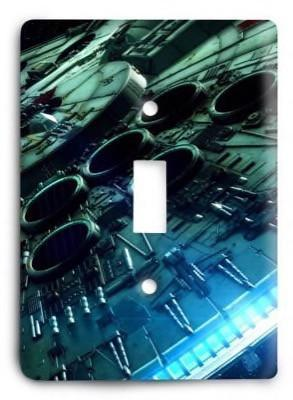 Star Wars_v37 Light Switch Cover - Colorful Switches