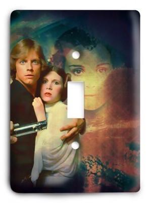 Star Wars_v57 Light Switch Cover - Colorful Switches
