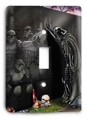 Star Wars_v94 Light Switch Cover - Colorful Switches
