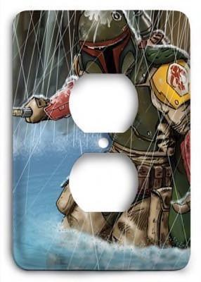 Star Wars_v97 Outlet Cover - Colorful Switches