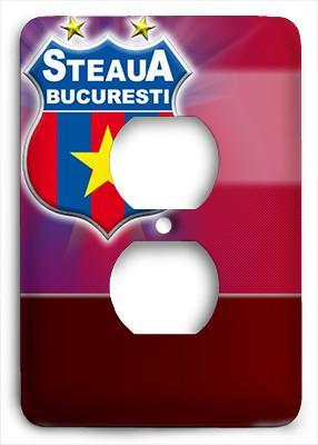 Steaua Bucuresti FC Outlet Cover - Colorful Switches