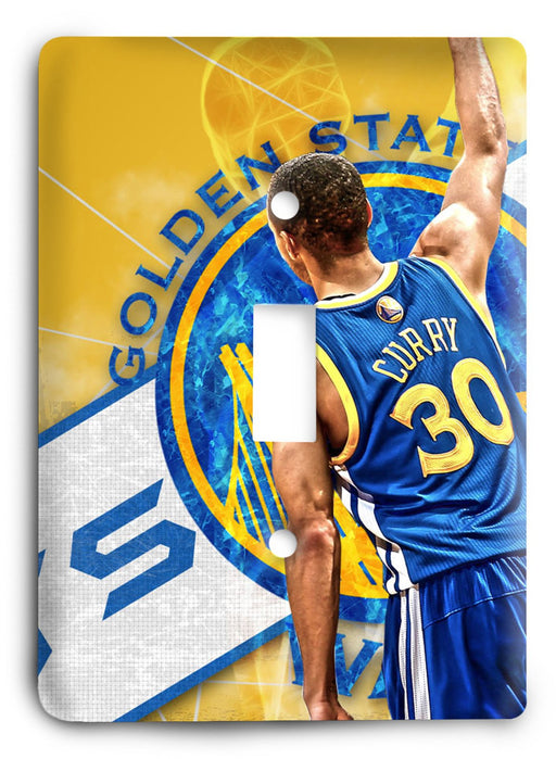 Stephen Curry 3pts Killer Light Switch Cover - Colorful Switches