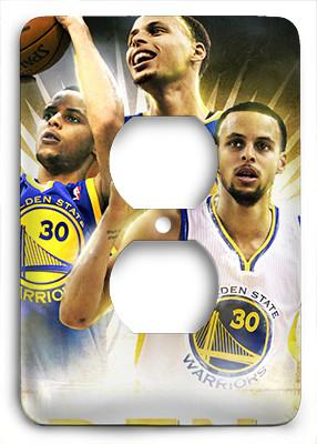 Stephen Curry The Golden Boy Golden State Warriros Outlet Cover - Colorful Switches