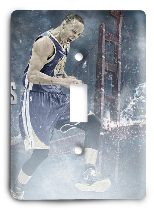 Stephen Curry We Are Warriros Light Switch Cover - Colorful Switches