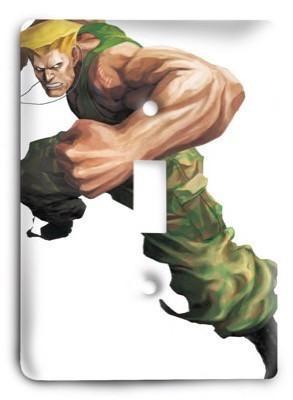 Street Fighter Ultimate 1 Light Switch Cover - Colorful Switches