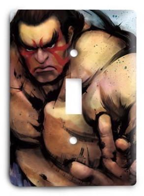 Street Fighter Ultimate 28 Light Switch Cover - Colorful Switches