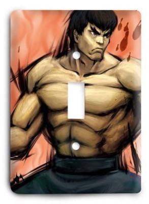 Street Fighter Ultimate 29 Light Switch Cover - Colorful Switches