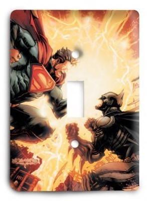 Super Man vs Batman 2 Light Switch Cover - Colorful Switches