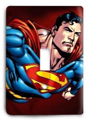 Superman G3 02 Light Switch Cover - Colorful Switches