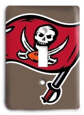 Tampa Bay Bucs NHL 17 Light Switch Cover - Colorful Switches