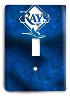 Tampa Bay Rays 02 Light Switch Cover - Colorful Switches