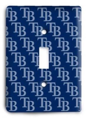 Tampa Bay Rays 11 Light Switch Cover - Colorful Switches