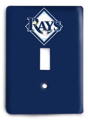Tampa Bay Rays 13 Light Switch Cover - Colorful Switches