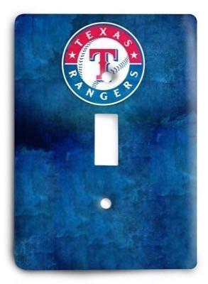 Texas Rangers 05 Light Switch Cover - Colorful Switches
